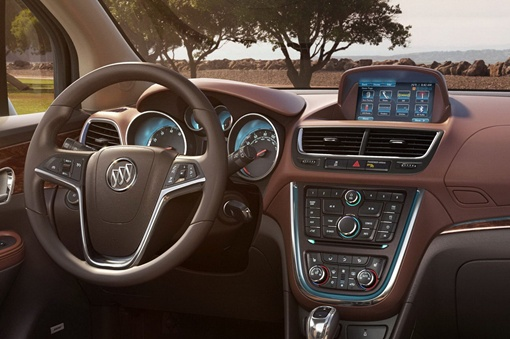 Buick питается от 1,4-литрового турбированного четырехцилиндрового двигателя