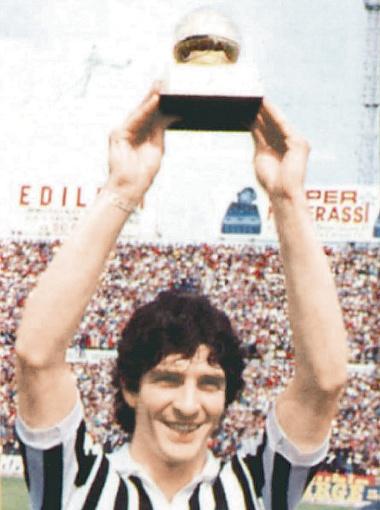 Паоло Росси - лучший игрок Европы 1982 года.