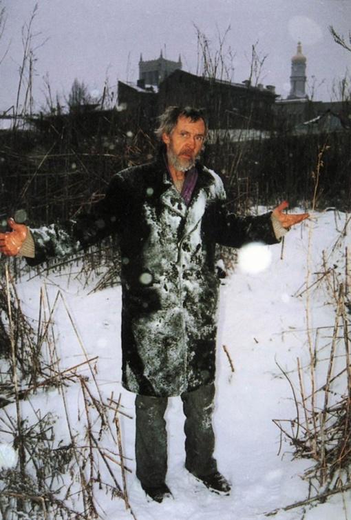 Зима. Фото Бориса Михайлова