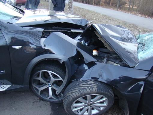 Очевидцы утверждают, что виновником аварии стал, вылетевший на встречную полосу,