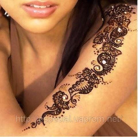 Мехенди роспись тела хной. Фото с сайта especial.prom.ua
