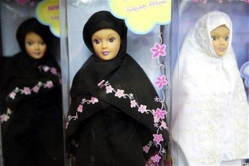 Куклы Сара (женщина) и Дара (мужчина) были сделаны в соответствии с исламскими традициями. Фото: с сайта offtop.org.ua