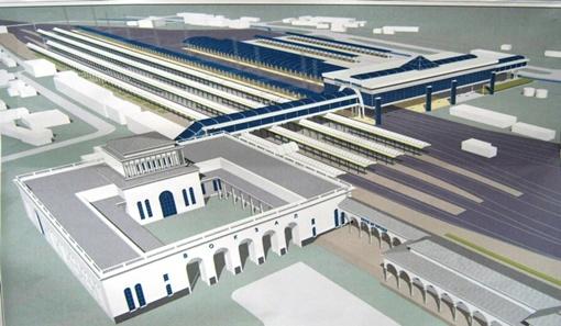 Так будет выглядеть Симферопольский ж/д вокзал уже к концу этого года. Фото из архива