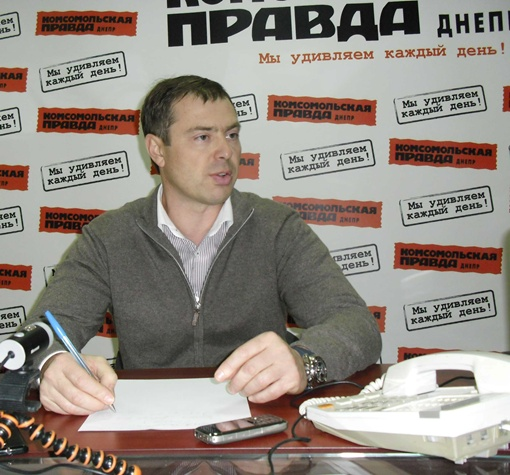 Беляев Александр Михайлович - депутат Днепропетровского городского совета