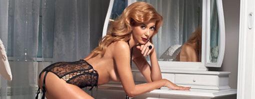 Марыся первый раз решила принять участие в эротической фотосессии. Фото: Maxim
