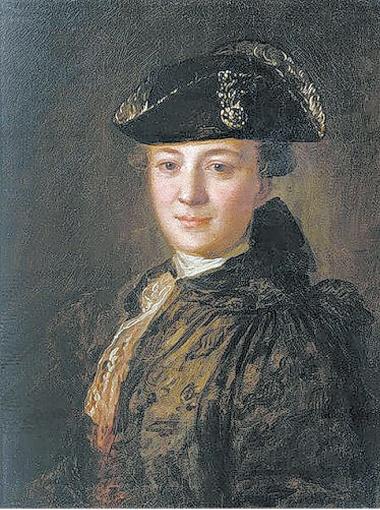 Федор Рокотов. Портрет неизвестного в треуголке.