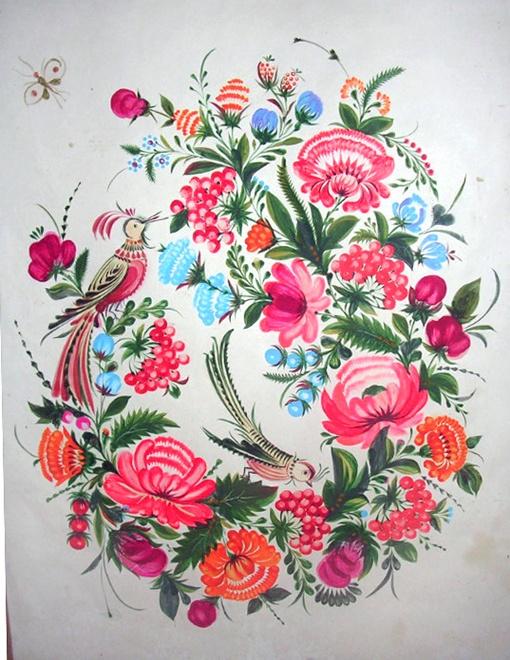 Одна из работ Василия