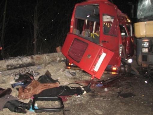 Трагедия произошла около 5 вечера.  Фото пресс-службы УГАИ в Ровенской области