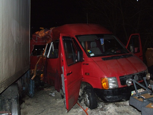 А аварии погибло 9 человек.  Фото пресс-службы УГАИ в Ровенской области