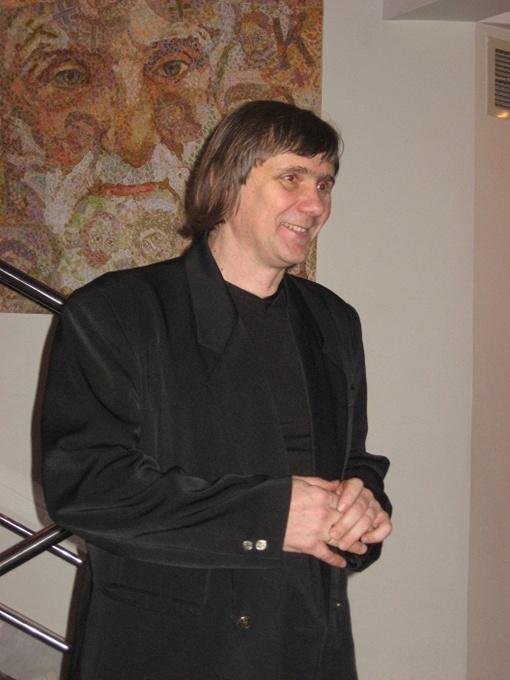 Олег Лазаренко создавал свои работы, путешествуя по святым местам.