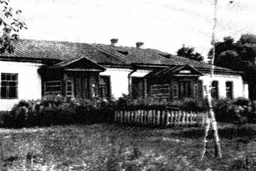 Дом в Марьяновке, где родился писатель, не уцелел. От него до наших дней сохранился лишь винный погреб. Фото 1896 года.