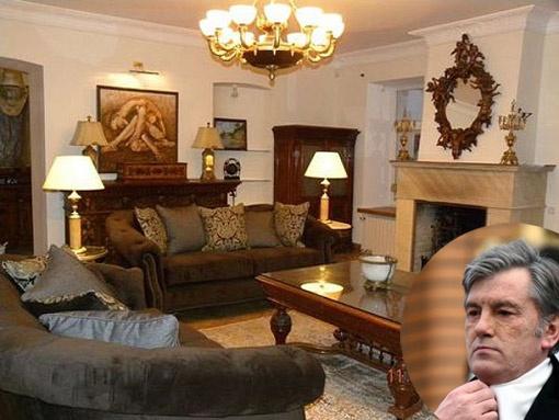 Квартира на ул. Малой Житомирской, которую якобы сдает Виктор Ющенко, напоминает музей. Фото с сайта drecur-realty.com.ua и Максима ЛЮКОВА.