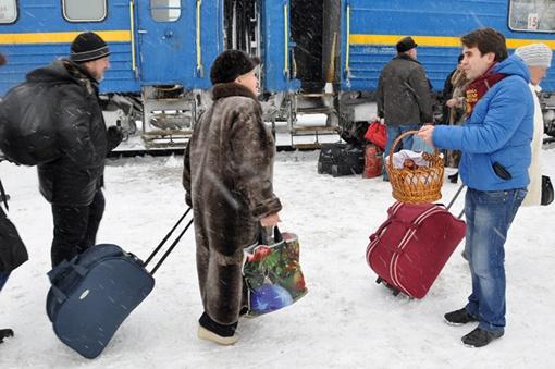 Лакомство получили все, кто приехал на поезде