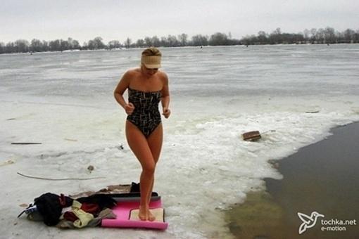 Наталия Валевская с Крещения по-настоящему начинает год. Фото: blikwomen.com.ua