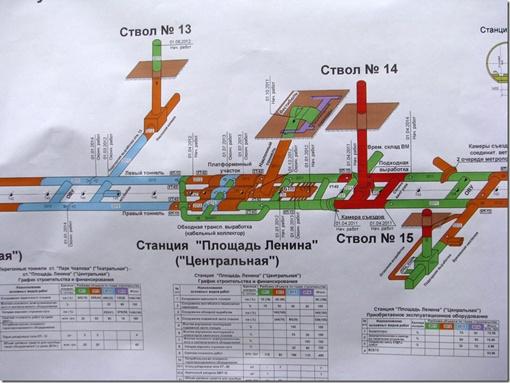 Длина линии нашей подземки сегодня - 7,8 км