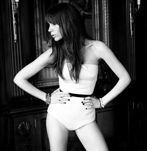 Виктория снялась для рекламной кампании собственной марки нижнего белья by Rochas. Фото: Numero