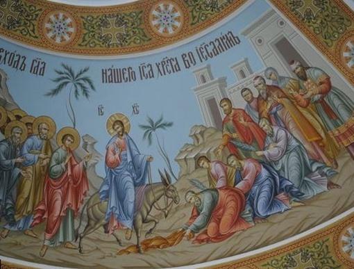 На фреске в соборе невероятным образом оказался изображен госслужащий. Фото time.kz