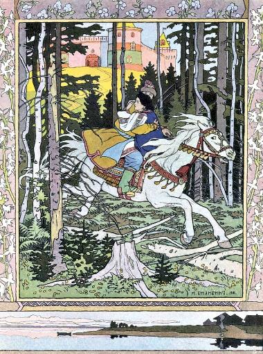 Одна из первых и самых известных иллюстраций Билибина - к сказке