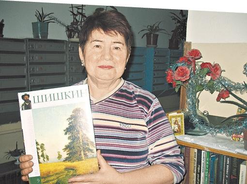 Людмила Франивская - главный инициатор перемен в подъезде дома на бульваре Леси Украинки, 7.