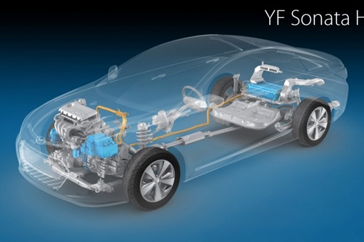 Десятиступенчатая коробка Hyundai предназначена специально для будущего производства гибридов, в том числе Sonata Hybrid.Фото http://avtomaniya.com.