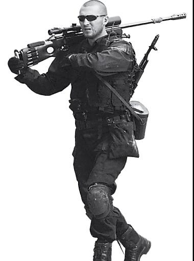 В одесской спецоперации участвовали снайперы.