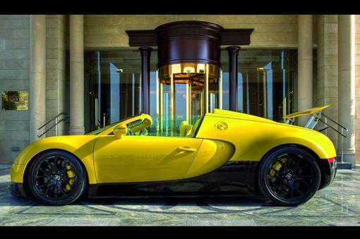 Данная модель Grand Sport предлагается по цене 1,580 млн. евро
