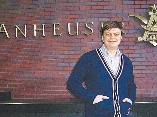 Киевлянин Андрей Губка сделал головокружительную карьеру в международной компании.