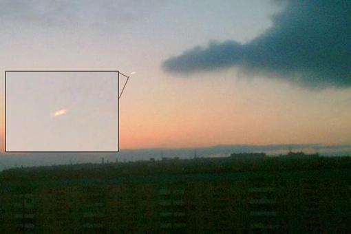 Неопознанный летающий объект на ж/м Парус. Фото с сайта ufobua.org.ua