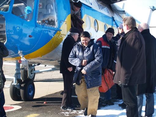 Среди пострадавших - женщина-кок. Фото: пресс-служба крымского главка МЧС