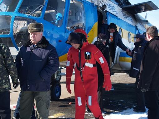 Все члены экипажа спасены. Фото: пресс-служба крымского главка МЧС