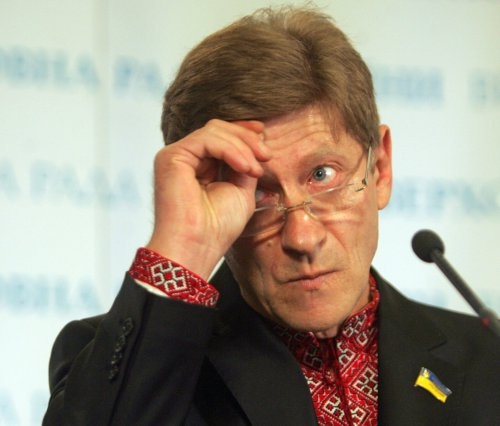 Роман Забзалюк на сегодняшней пресс-конференции. Фото УНИАН