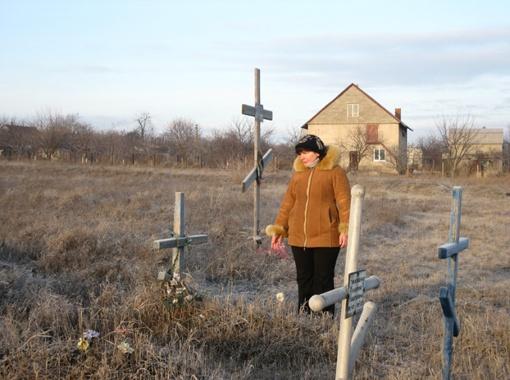 Людмила Цыганок: - Пока этому кладбищу не дадут статус мемориала, не сдадимся!