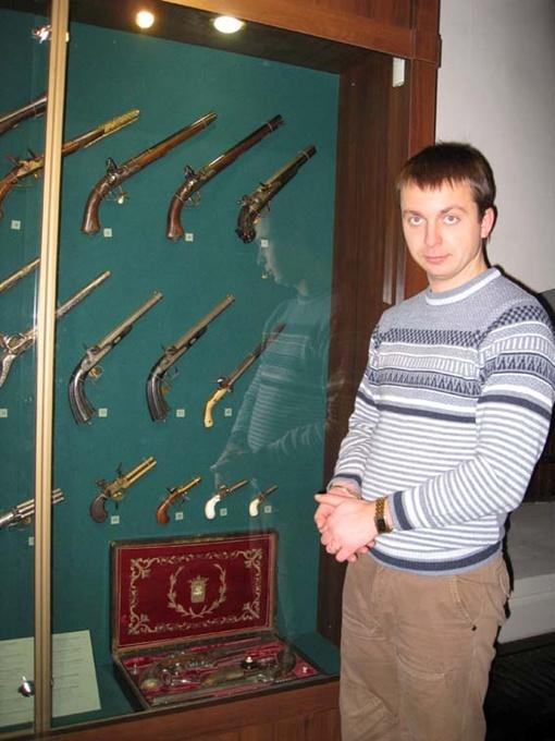 Возможно, именно это оружие поэт приобрел для дуэли с Дантесом. Фото Анны МИЩИШИН.