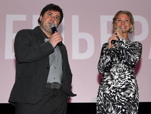 7 февраля в Днепропетровске на допремьерном показе фильм > представили его  продюсер Александр Цекало и главная героиня Кристина Асмус