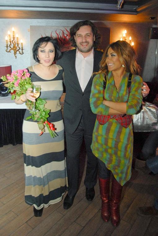 Алена, Гайтана и продюсер Виталий Клим. Фото Дмитрия Никанорова.