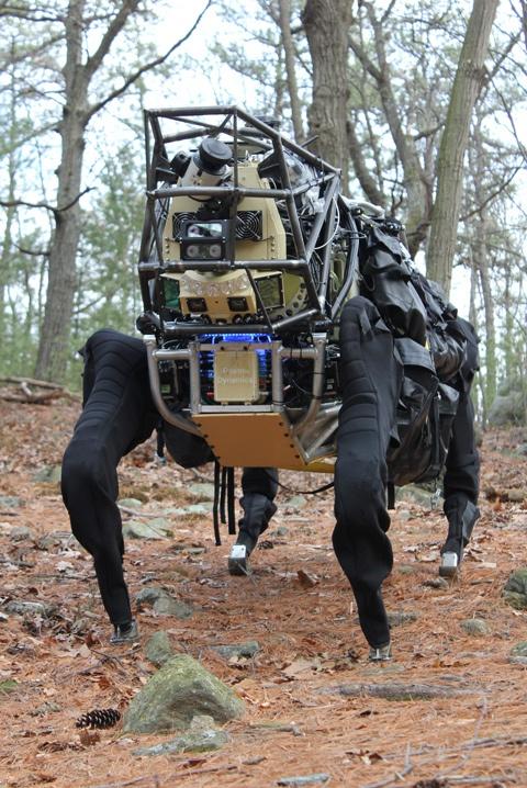 Выглядит устрашающе. фото DARPA