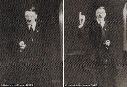 Фюрер отрабатывал жесты