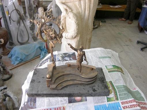 Скульптура Ирина Бугримовой