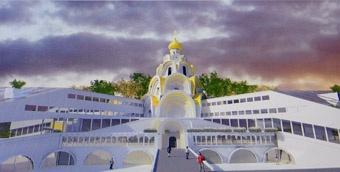 Студенты Одесской государственной академии строительства и архитектуры приняли участие в конкурсе на лучший проект церковно-приходской школы