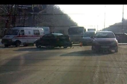 В ДТП попали 24 машины