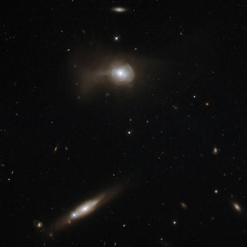 Эта галактика представляет собой большое, яркое, но слегка размытое пятно. Фото: infuture.ru