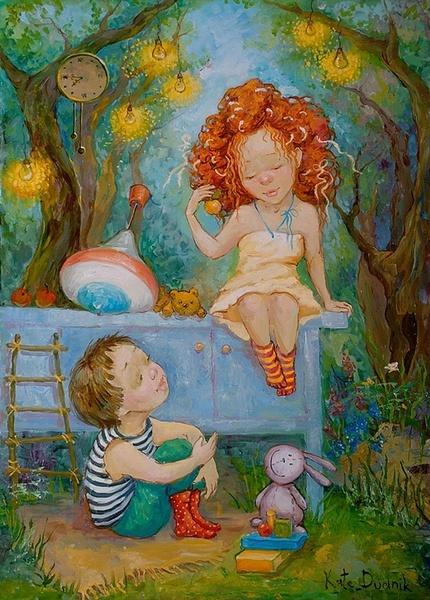 Сохрани в себе ребенка. Фото с сайта liveinternet.ru