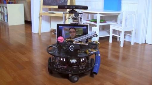 Робот может взаимодействовать с собакой так же, как хозяин. Фото: infuture.ru