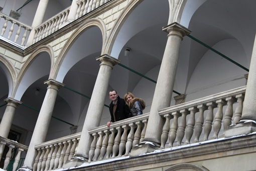 В Итальянском дворике царит атмосфера свадеб