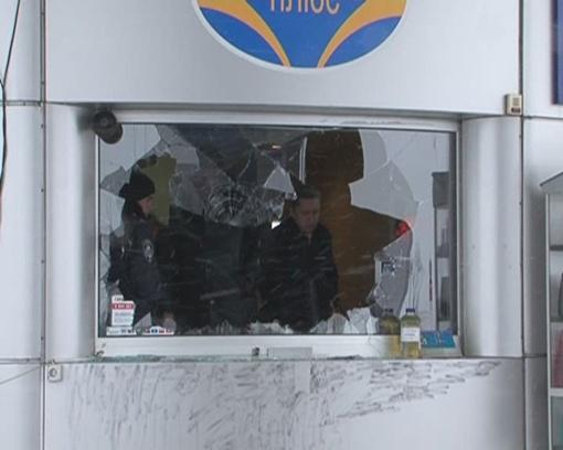 Убийца стрелял через стекло. Фото:  lugansk.comments.ua