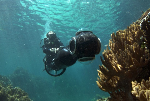 SVII работает на глубинах до 100 метров, фото CatlinSeaviewSurvey.com
