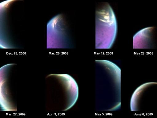Атмосфера Титана похожа на земную. Фото NASA.