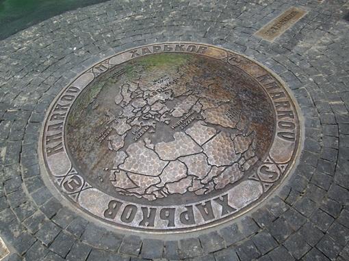 50-я параллель проходит через сад Шевченко. Фото из архива