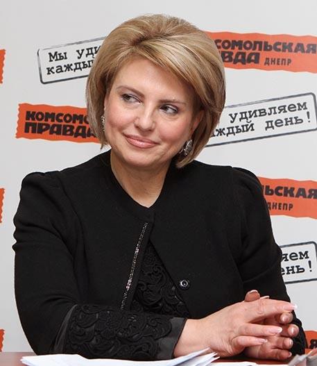 Елена Валентиновна ЛОЗЕНКО- заместитель городского головы Днепропетровска