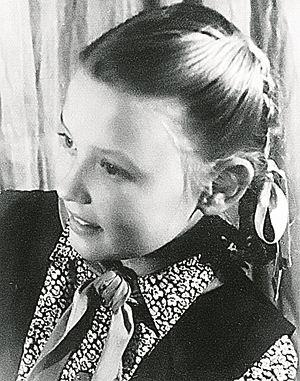 Вере Алентовой было 8 лет, когда она решила, что станет актрисой.